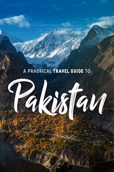 Planning travel to Pakistan? This practical Pakistan travel guide has all the. Pakistan Reisen, Pakistan Travel, Pakistan Tourism, Pakistan Bangladesh, Travel Guides, Travel Tips, Travel Destinations, Visa Information, Viajes
