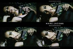 First look at the Marc Jacobs Decadence campaign featuring Adriana Lima.  #MJdecadence