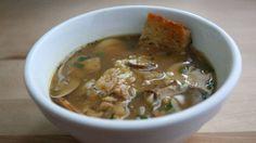 Mushroom Soup with Marsala