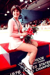 Ladies Olympic Champion 1976  Doroth Hamill  The History of Figure Skating  by Ed Feathers
