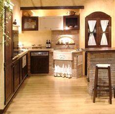 Grifo Caminetti - Le nostre cucine in mattoni, pietre, marmo e ...