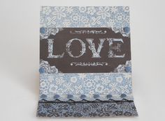 Card made by Phillipa Lewis using Craftwork Cards Chambray & Lace Collection.