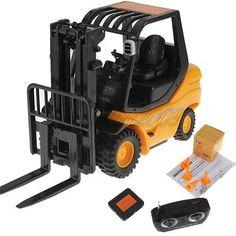 1-20-Mini-RC-Auto-Stapler-Gabelstapler-Ferngesteuert-Truck-LKW-4-Strassensperre