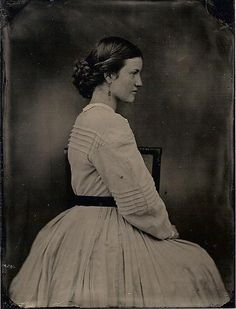Modern impression of 1860's - clothing by Anna McClurg - wet plate image by Robert Szabo