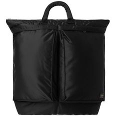 83b21b26e6 PORTER-YOSHIDA   CO PORTER-YOSHIDA   CO. TANKER HELMET TOTE.  porter-yoshidaco   bags  hand bags  nylon  tote  lining