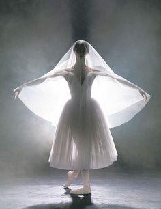 Royal Winnipeg Ballet principal Vanessa Lawson, Giselle. Photo: David Cooper.