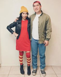 Pin for Later: 40 Nostalgic Couples Costumes That Would Make the Perfect #TBT T.J. and Spinelli From Recess