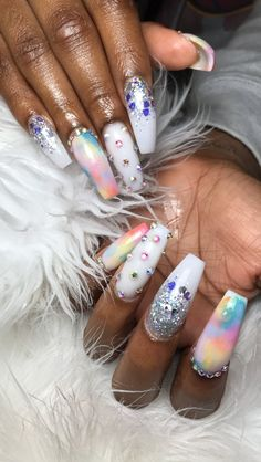 Check out Imani Ty& #233;& #10084;& #65039; ️ - coffin #nails #nailscoffin #coffinnails