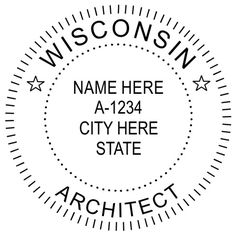 Montana Architects are allowed to have an embossed seal on stamp