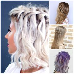 5 Ideas for Waterfall Braids to Try in Summer 2017