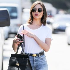 Olivia Culpo just wore this It ankle boot style with denim shorts, and the combination is perfect. See it here.