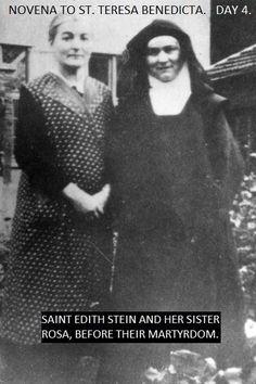 Saint Teresa Benedicta of the Cross  & her sister Rosa