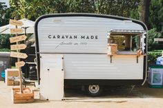 Caravan Made Barcelona Food Truck Van Van Market