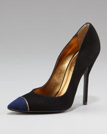 This reminds me of those perfect pumps I see my mom wearing in old pictures.