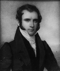 Portrait of a Gentleman by Daniel Dickinson, 1820-22.
