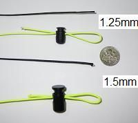 ZPacks.com Ultralight Backpacking Gear - Z-line Spectra Cord. Replace traditional guy lines with this UL Spectra Cord. Use micro line locks if needed (not the ones pictured here). Even better use the taut line hitch.