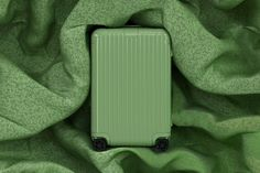 RIMOWA Launches New Range of Colorful Suitcases: Four colors inspired by remote locations. Luggage Reviews, Pink Lake, Rimowa, Carry On Suitcase, Travel Luggage, Pink Luggage, Design Reference, Trunks