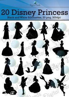 Hey, I found this really awesome Etsy listing at https://www.etsy.com/listing/194388530/20-disney-princess-silhouettes-png-and