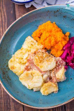 Syn Free Bacon, Potato and onion Bake