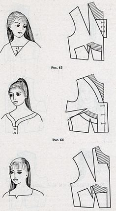 Neckline Variations - Diagrams but No Instructions