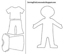 dress up template
