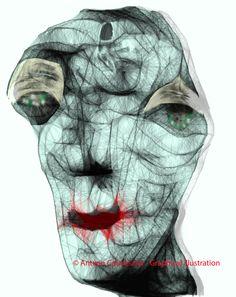 © Antxon Castresana - Graphical illustration NO puedes tocarme NO puedes olerme NO puedes verme.Que puedo hacer,escribir y escucharte.Pero te puedo sentir.