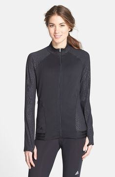 Women's adidas 'Advance Deco Rangewear' Zip Front Jacket