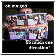 ^^^^me when i get a new magazine:) i just sit in my room fangirling/laughing at how stupid the magazines are....and then i rip out all the posters and cut out all the pics of the boys and put them in what little space i have left in my bedroom ;)