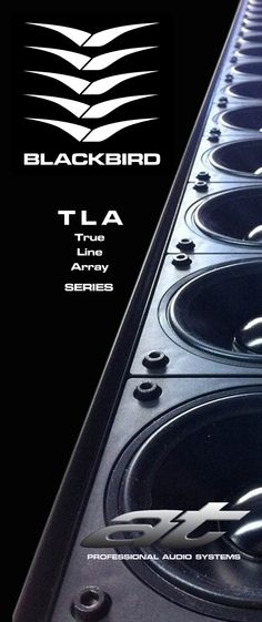 """#ATProfessional - Products - The TLA1164 Line Array utilises 16x 4"""" Neodymium transducers, and the TLA1244 Line Array utilises 24x 4"""" Neodymium transducers to provide true line array performance with exceptional clarity and transient response. #pasystem #audiotechnology #linearray"""
