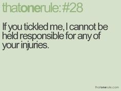 That one rule...lol    :)