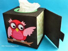 Kosucas: Tissue Box Cover for owls (inspiration only)