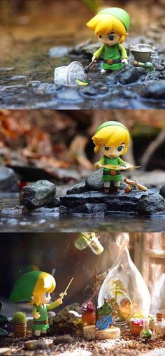 Toon Link This could quite literally be the cutest thing I have ever seen in my entire existence