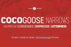 Cocogoose Narrows - 70% OFF! by Zetafonts on @creativemarket