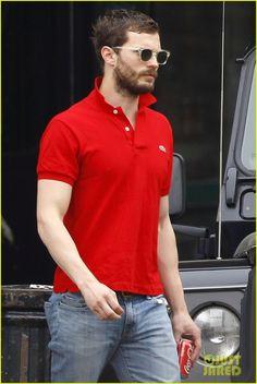 Jamie Dornan Treats His Wife Amelia to Lunch in London! | Amelia Warner, Jamie Dornan Photos | Just Jared