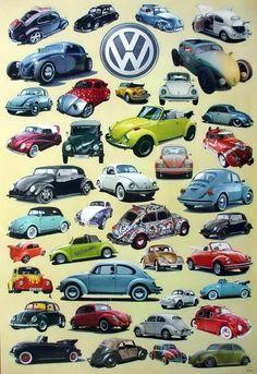 500 mm VW Volkswagen Old Brand Aufkleber Sticker Decal -30 Farben