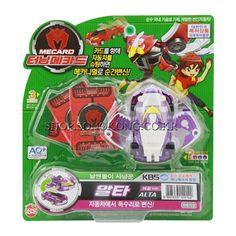 #TurningMecard #Alta #PurpleVer #Transformer #Robot #Korea TV Animation Car #Toy