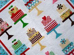 Sew Cherry fabric... Cake Walk pattern