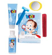Just Like Dad Grooming Kit $15.99. How adorable!