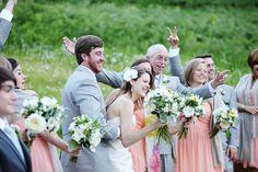 this bride's got my color scheme down pat