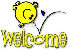 Yellow Smiley Welcome Image  #Allquotes #Welcome! #welcome #Quotes #Cards # #WelcomeImage #YouAreWelcome Welcome