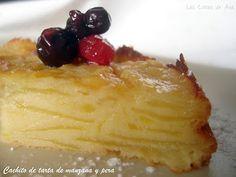 Tarta de Manzana y Pera (Thermomix)