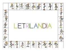 """""""Letrilandia"""" forma parte de una metodología de lecto-escritura muy usada en múltiples centros de educación infantil. En nuestra opinión, por lo que hemos observado en las prácticas, puede ser una dinámica adecuada si no tienes niños con necesidades específicas en la clase. Classroom Projects, Cursive, Kids Education, Literacy, Fails, Teacher, Reading, School, Coles"""
