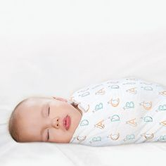 """Peaceful dreaming comes easy with our limited edition """"Pat the Bunny"""" cotton muslin swaddles."""