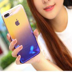 Ultra Slim Lighting Gradient Color Hard Cover For iPhone 6 6s 6 6s plus 7 7plus