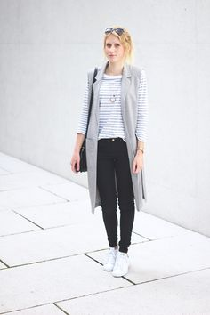 katiys.com, fashionblogger, minimalistic, stripes, longwest, long west, black, white, grey, cos, fashionblogger_de, fashion, style, minimal
