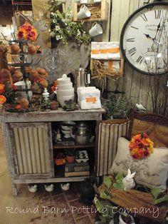 Round Barn Potting Company: French Cafe