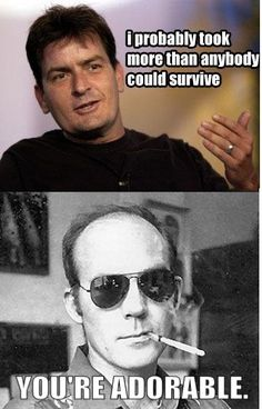 ha! No one compares to Hunter S. Thompson!!