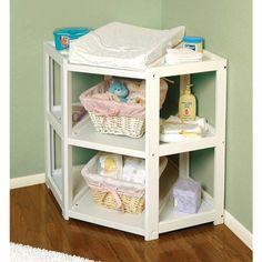 Une table à langer pour le bébé