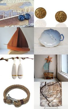 Let's Go Sailing! by Julie on Etsy--Pinned with TreasuryPin.com