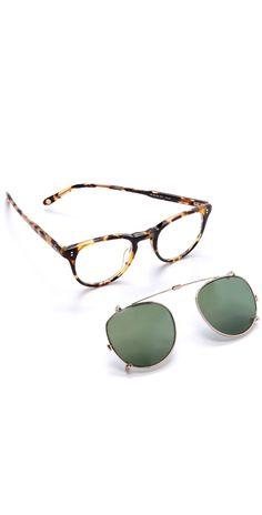 GARRETT LEIGHT MIlwood Clip Sunglasses | SHOPBOP